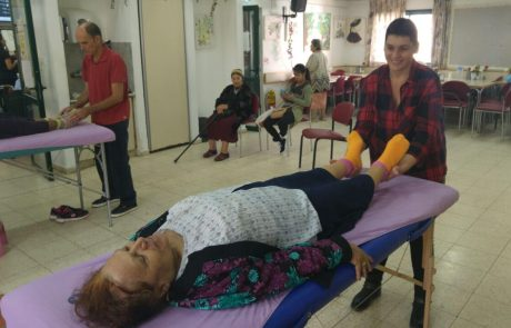 הפעמות לקשישים בקרית עקרון