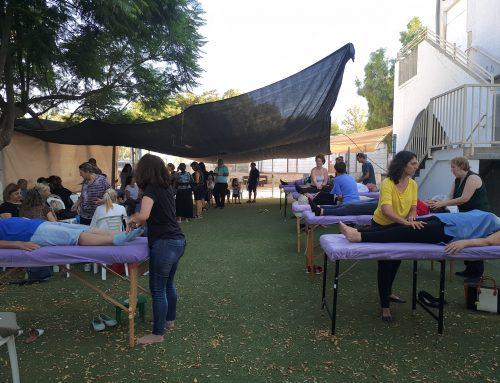 טיפולים במתנדבים בדרום (אופקים)